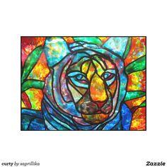 curty canvas print