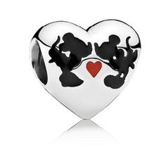 Shop 2018 pandora disney charms and pandora charms. Price PANDORA Disney - Minnie and Mickey Kiss Charm UK. Pandora Charms Disney, Bracelet Pandora Charms, Disney Charm Bracelet, Pandora Jewelry, Opal Jewelry, Diy Jewelry, Handmade Jewelry, Pandora Beads, Jewelry Stand