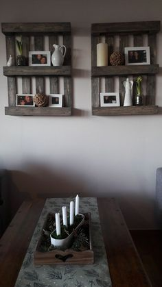 Home decoration #rustic #pallets