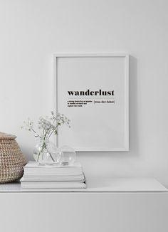 Wanderlust Poster