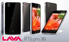Cell Phone Streets: Lava Iris Pro 30 Smartphone Images and