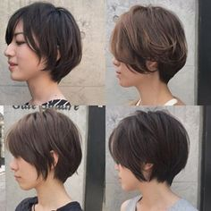 Short w/ little curl Short Hair Cuts, Short Hair Styles, Short Grey Hair, Undercut Hairstyles, Short Bob Hairstyles, Hair Inspo, Hair Inspiration, Hair Reference, Gorgeous Hair