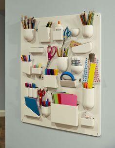 home by novogratz - great organizer for kids supplies.