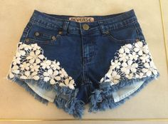 EMBROIDERED SHORTS BLUE $68- CALL SPLSAH TO ORDER 314-721-6442