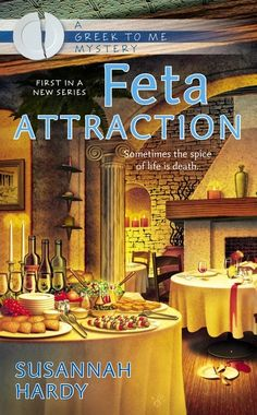 On Mystery Lovers Kitchen, win a book #giveaway of FETA ATTRACTION by @SusannahHardy1, a Greek To Me Mystery. Go to blog to enter: www.mysteryloverskitchen.com @KristaDavis @LucyBurdette