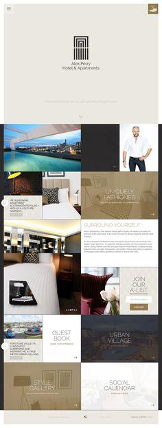 Alex Perry Hotel & Apartments (More web design inspiration at topdesigninspiration.com) #design #web #webdesign #inspiration #sitedesign #responsive