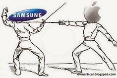 Again Called Apple and Samsung Legal War