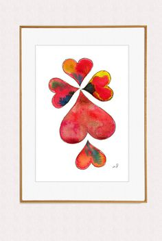 love hearts by ArtistiCorner, €20.00