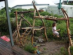 Dreamweavers organic play equipment.  Can I build it, I think I want to try.
