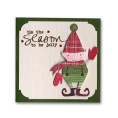 Holiday Card 32 Elf Corner Chomper Mini
