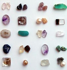 semi precious stones...from the roiling depths of mother earth...the giver of all things...listen to her plea..take care my little ones..least you forget how you injure me..