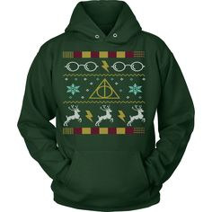 Celebrate this Christmas in style with your own exclusive ugly Christmas Hoodie sweater! Harry Potter Glasses Ugly Christmas Hoodie Sweater - Unisex - Grab Your Exclusive Limited Edition Ugly Christmas Sweater Designs Today and Get FREE Shipping!     View Sizing Chart     SHIPPING NOTE: On All items please allow 1-7 weeks US delivery. All Sales Final, no returns or exchanges.