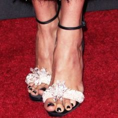 2004af0e19f Shailene contained all the sparkles to her feet in a pair of Christian  Louboutin