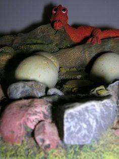 CAROL LYNN PENNY GENESIS CREATIONS DRAGON, EGGS IN NEST DISPLAY PIECE CLARECRAFT   eBay