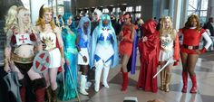 Way back in 2012 at New York Comic Con, we did a She Ra/Masters of the Universe cosplay group! I weep that we didn't do a more structured photo shoot but we had a good time :) She-Man - Freddie Nova She-Ra - Fire Lily Cosplay Mermista - Ann...