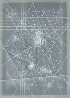 Emma Mcnally's Abstract Map Drawings | Beautiful/Decay Artist & Design