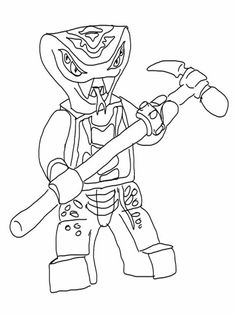 Lego Ninjago Coloring Pages 2