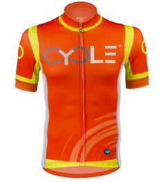 98d637495 ATD Men s Premiere Racing CYCLE Jersey - High Visibility