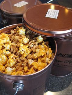 Garrets Popcorn when I visit Chicago IS A  MUST!!!!