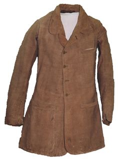 Homemade Confederate Jacket/Frock made for Burton Marchbanks of Company E, 30th Texas Cavalry by his wife. Pvt. Marchmanks was wounded on July 17, 1863 at the Battle of Honey Springs. Although he returned home he died shortly after making it there. Uniform housed at the Layland Museum in Cleburne, Texas.