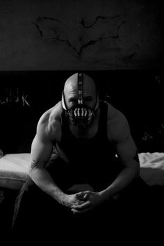Oh, you think darkness is your ally. But you merely adopted the dark; I was born in it, moulded by it. I didn't see the light until I was already a man, by then it was nothing to me but BLINDING! The shadows betray you, because they belong to me. Bane, in my opinion one of the most great archienemy of Batman.