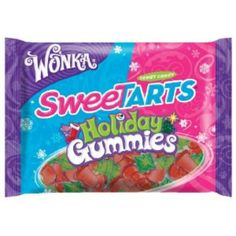 I'm learning all about Wonka Sweettarts Holiday Gummies Tangy Candy at @Influenster!