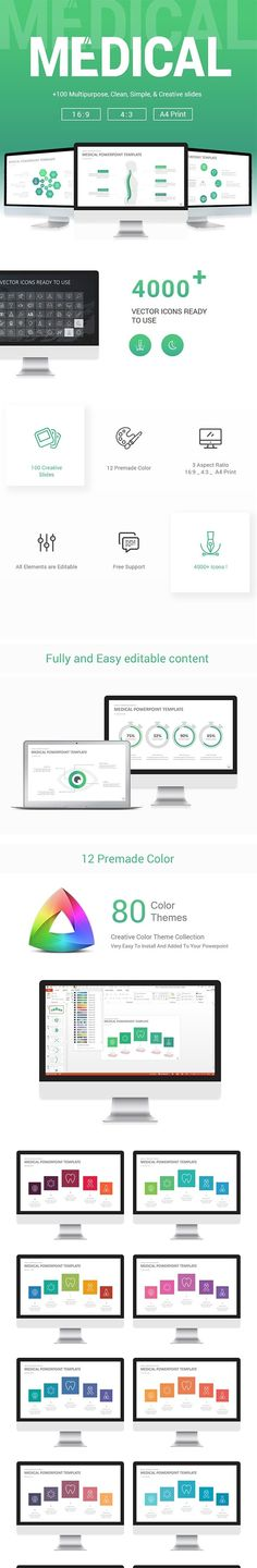 Business Powerpoint Presentation Font packs, Clean design and Business