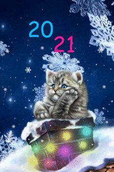 Happy New Year Animation, Happy New Year Gif, Happy New Year Pictures, Happy New Year Message, Merry Christmas Gif, Holiday Gif, Christmas Gift Box, Merry Christmas And Happy New Year, Happy Birthday Emoji