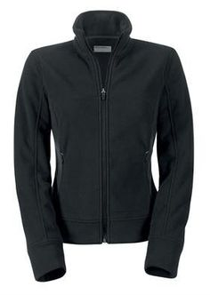 Genuine Porsche Women's Fleece Jacket - Black - European Size Extra Large by Porsche. $139.99. Made from Polartec® microfleece. Two side pockets with zip. Cord with stopper on the seam. Discreet, embossed Porsche logo on the front. 100% polyester. Black. Imported. With feminine cut. Please note this item has a European fit.