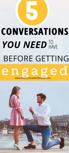 Millennials, 5 Conversations To Have Before Getting Engaged, Conversations To Have Before Getting Engaged, conversations to have before marriage, conversations to have with boyfriend, #engaged, #gettingmarried, #fiance, #newlyengaged, #relationshiptips, important topics to cover in relationships, relationship tips Relationship Questions, Relationship Advice, Relationships, Unique Date Ideas, Before Marriage, New Boyfriend, Getting Engaged, Dating Advice, Esl