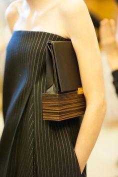 Clean cuts, stripes, pockets. Stella McCartney FW2013