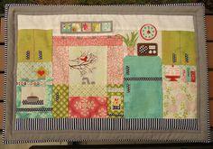 Fabric Mutt: Retro Kitchen Hellooooo really cute project idea! I would like to make you.