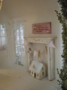 Sprinkled With Love Cottage Dollhouse Interior