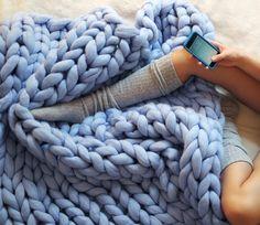 Super soft Merino wool blankets