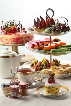 beautiful selection for a high tea - Food And Drink For You
