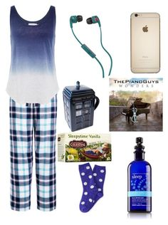 Time For Bed by makaylla-alexander on Polyvore featuring Velvet by Graham & Spencer, John Lewis, Skullcandy, P.S. from Aéropostale and Celestial Seasonings