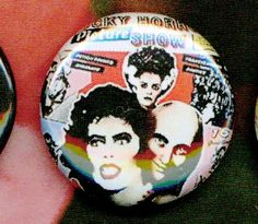 Rocky Horror Picture Show one inch button magnet by mycraftdotjar, $1.25