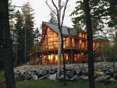 Lindal cedar homes, mountain dream homes, custom home designs, custom homes Timber Frame Homes, Timber House, Wooden House, Prefab Homes, Log Homes, Custom Home Designs, Custom Homes, Mountain Dream Homes, Mountain Cabins