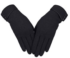 Shop for Women's Screen Gloves Warm Lined Thick Touch Warmer Winter Gloves - Black - Discover the newest styles Women's Cold Weather Gloves up to off. Best Winter Gloves, Warmest Winter Gloves, Gants Vintage, Hand Gloves, Women's Gloves, Gloves Fashion, Fashion Hair, 80s Fashion, Shoes