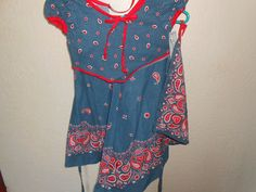 Daisy Kingdom Vintage Dress, Girls Paisley Summer Dress, New With Tags by auctionsaletreasures on Etsy