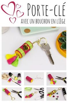 Billiges Vatertagsgeschenk Bricolage fête des mères facile : fabriquez un porte-clé avec un bouchon en l. Diy Crochet Doilies, Paper Cactus, Mother's Day Diy, Helium Balloons, Macrame Tutorial, Sewing Tutorials, Diy For Kids, Diy Gifts, Christmas Diy