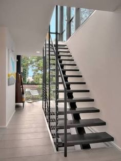 Image result for steel spine external staircase