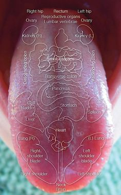 Did you know that your tongue can give clues to pin point what's going on with the rest of the body?