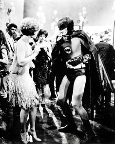 Adam West dancing with Jill St. John, 1966