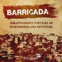 O #JobBamp da semana é a #IdentidadeVisual + #ComunicaçãoVisual para o #Barricada, evento do #Quitanda. Aguardem! #BampDM #Design e #Marketing