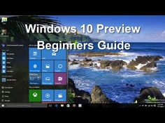 Windows 10! Preview - Tips, Tricks, Features & Tutorial Review - Beginners Video Guide - Easy Help - YouTube