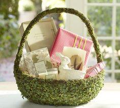 Green Vine Easter Basket  Pottery Barn