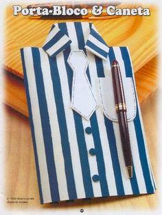 Lembrança em eva para o dia dos pais: camisa com caneta! - ESPAÇO EDUCAR