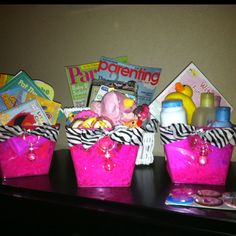 Babyshower centerpiece ideas