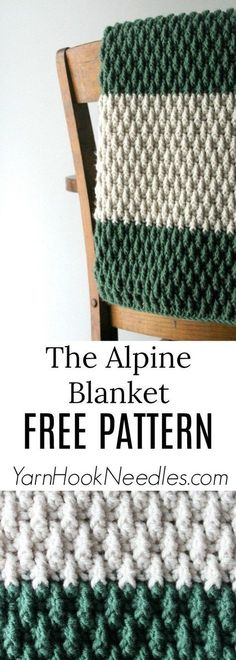 The Best Free Crochet Blanket Pattern You Ever Made!